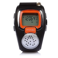 Harga Zell Freetalker Watch Walkie Talkie Isi 2Pcs Hitam Jingga Zell Ori