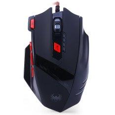 Katalog Zelotes T 90 8 Kunci Usb Kabel Optik Mouse Permainan 13 Mode Cahayan9200Dpi Pemain Untuk Permainan Hitam Terbaru