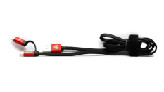 Situs Review Zen From Nillkin 2In1 Data Cable Merah