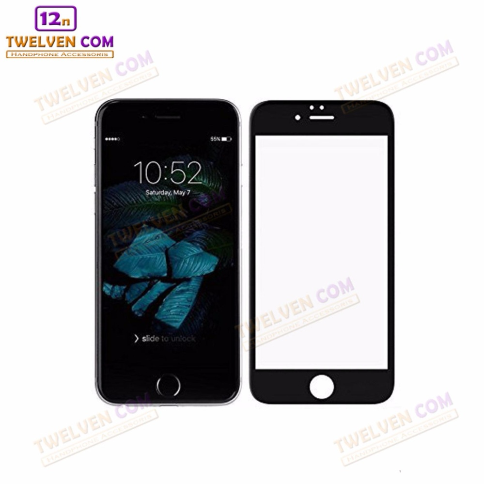zenBlade 3D Full Cover Tempered Glass iPhone 7 - 4.7 Inch - Black