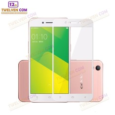 zenBlade 3D Full Cover Tempered Glass Oppo A37 - Putih