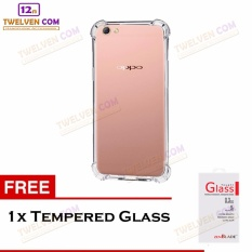 Zenblade Anti Shock Anti Crack Softcase Casing for Oppo A57 - Free Tempered Glass