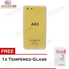 Zenblade Anti Shock Anti Crack Softcase Casing for Oppo A83 - Free Tempered Glass