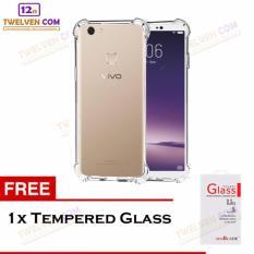 Zenblade Anti Shock Anti Crack Softcase Casing for Vivo V7+ Plus - Free Tempered Glass