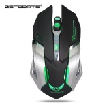 Zerodate X70 Dual Mode Gaming Mouse 2400 Dpi Dengan Breathing Light Intl Murah