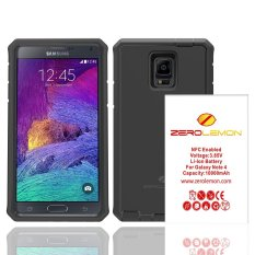 Tips Beli Zerolemon Zero Shock Samsung Galaxy Note 4 Battery Charging Case 10000Mah With Nfc Belt Clip Holster Y668 Black