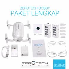 ZEROTECH Dobby Pocket Selfie Drone FPV With 4K HD Camera Paket Lengkap