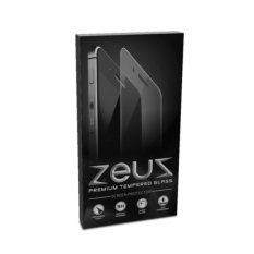 ZEUS Glass for Blackberry Jakarta / BB Z3 - Premium Tempered Glass - Round Edge 2.5D - Bening