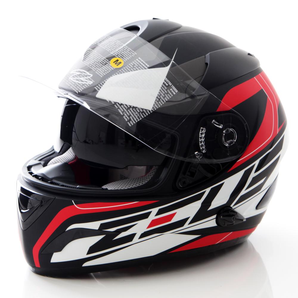 Toko Zeus Helm Fullface 806 Hitam Merah Di Indonesia