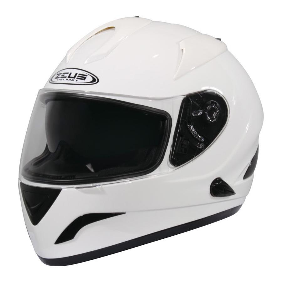 Zeus Helm Fullface 806 Putih Asli