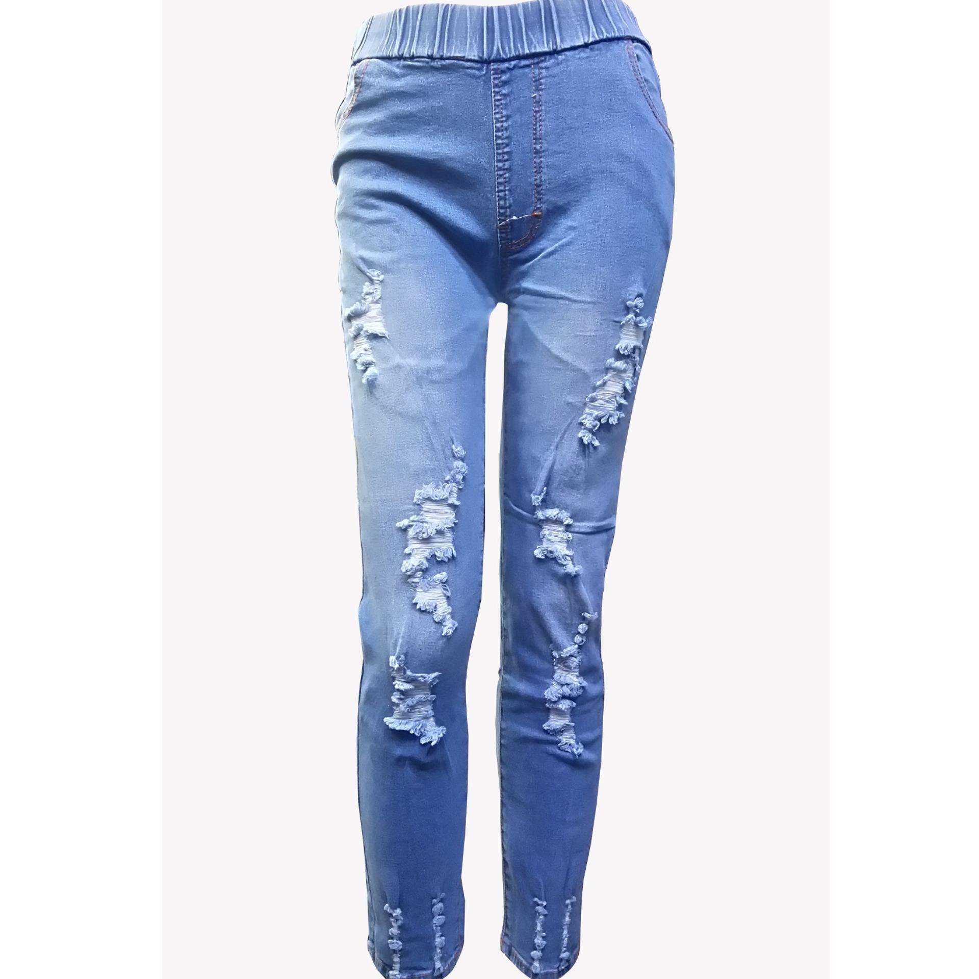 Tunas Baru Fashion Celana Jeans 9116 Blue Black Free Acc Daftar Lois Original Jogger Cjg300sn Biru 28 Source Zfashion