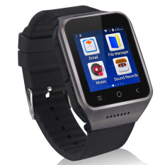 Toko Zgpax S8 3G Smart Inti Ganda Jam Tangan Ponsel 1 54 Inci Hd 240X240 Piksel Layar Android 4 4 512 M Ram 4G Rom 5 Megapiksel Hitam Zgpax Hong Kong Sar Tiongkok