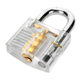 Ulasan Mengenai Zh Tmtz 2 Stainless Steel Kunci Kunci 9 Pilih Set Alat Pelatihan Transparan Silver