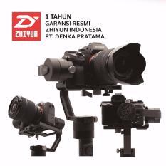 Zhiyun Crane V.2 3 Axis Handheld Gimbal for DSLR & Mirrorless Garansi Resmi Zhiyun Indonesia - Hitam