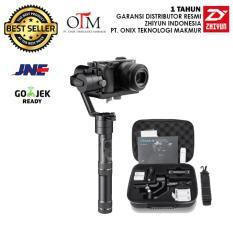 Zhiyun Tech Crane M 3-Axis Smart Control Gimbal Stabilizer for Mirrorless Canon Nikon Sony Fujifilm Panasonic GoPro Brica (Garansi Resmi Zhiyun 1 tahun)