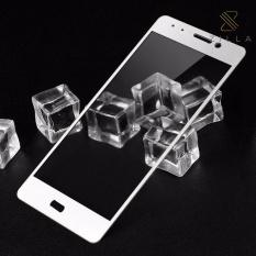 Harga Zilla 3D Carbon Fiber Tempered Glass Curved Edge 9H For Xiaomi Mi5S White Asli