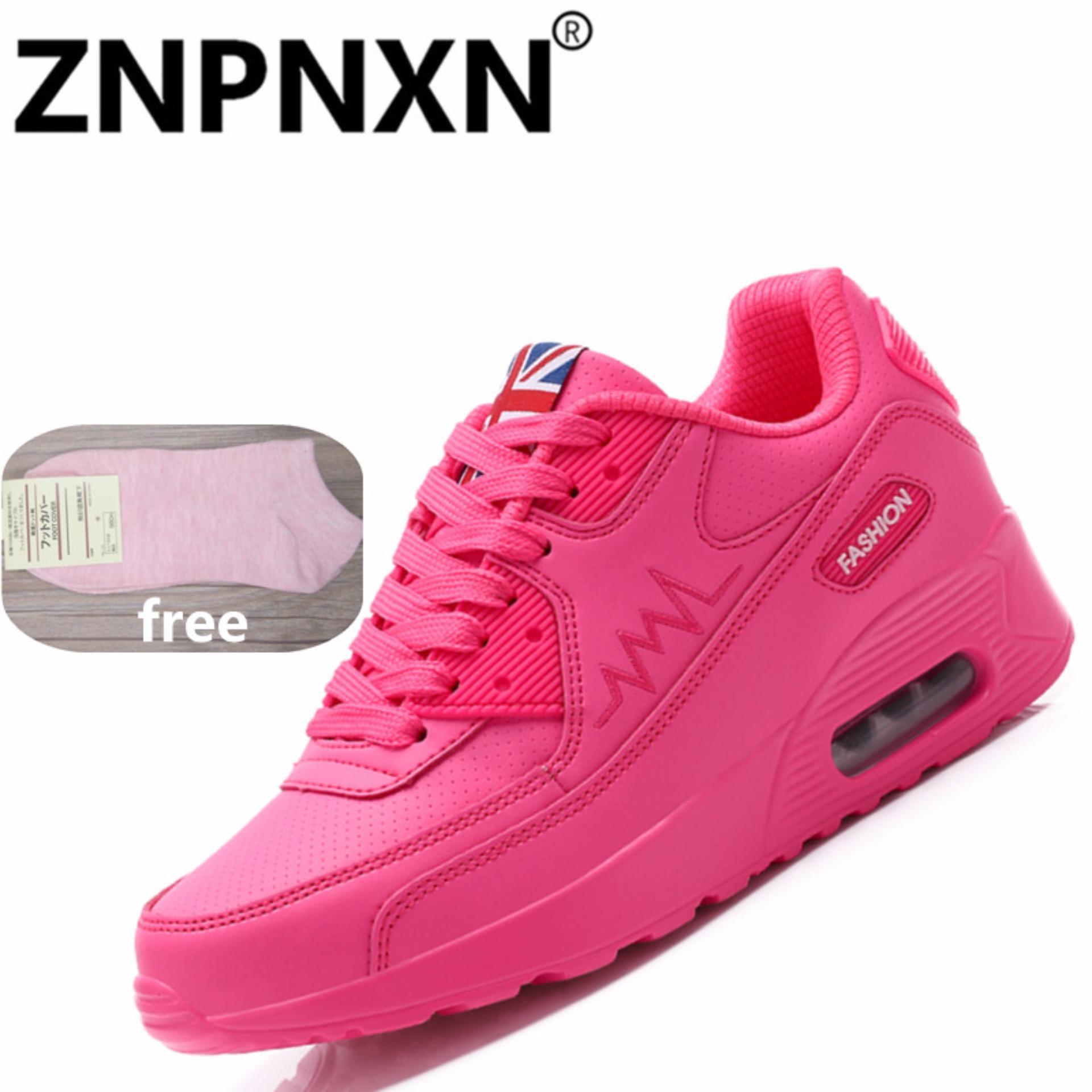 Znpnxn Kaus Brand Terbaru Musim Semi Musim Gugur Menjalankan Sepatu For Outdoor Nyaman Wanita Sneakers Bernapas Olahraga Sepatu Rose Di Tiongkok