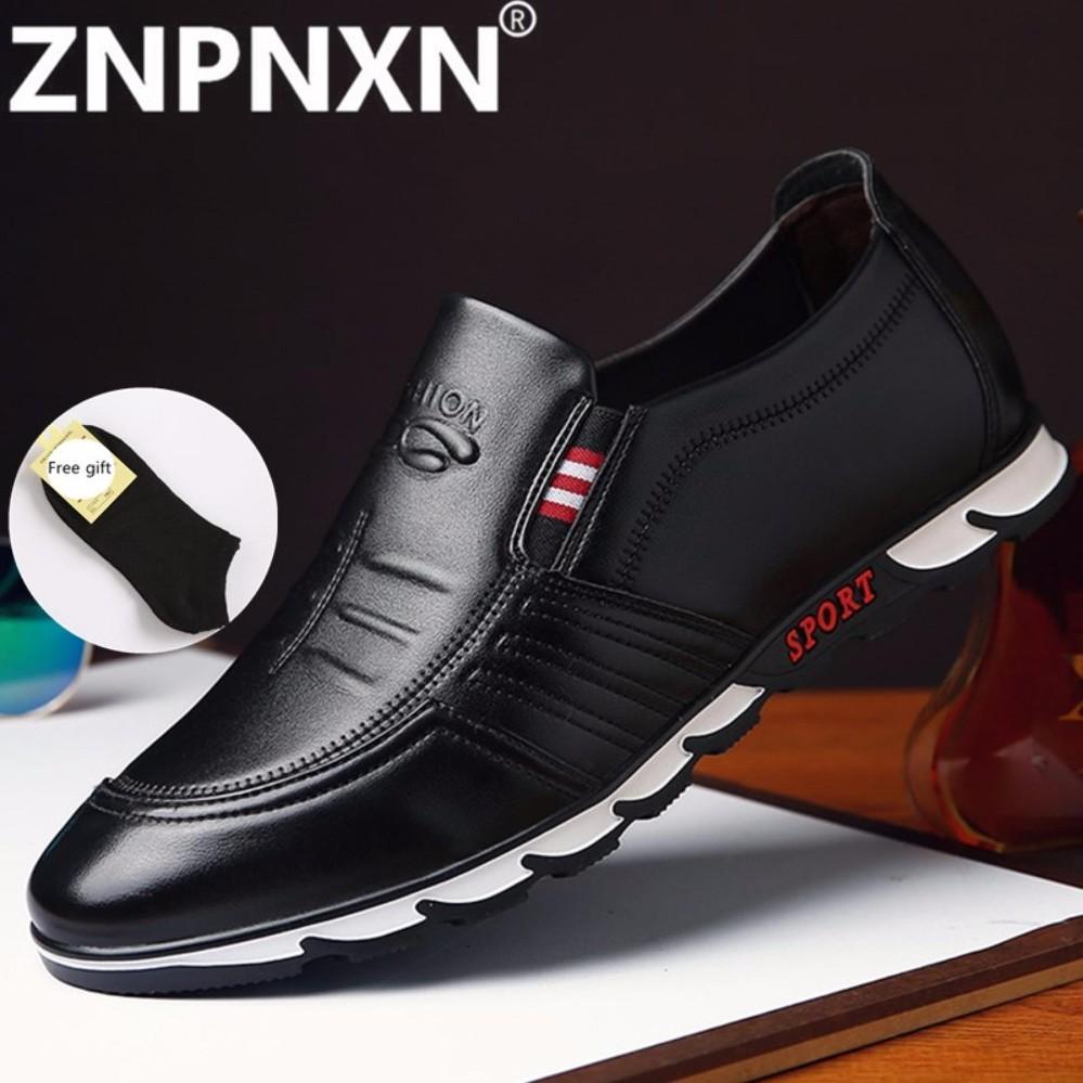 Harga Znpnxn Kaus Musim Semi Musim Gugur Kerja Pria Desainer Mewah Pria Bisnis Gaun Sepatu Pria Loafers Sepatu Runcing Hitam Intl Di Dki Jakarta