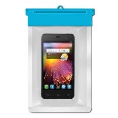 Zoe Alcatel One Touch Idol Mini Waterproof Bag Case - Biru