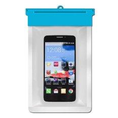 Zoe Alcatel One Touch Idol X Waterproof Bag Case - Biru