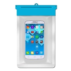 Zoe Alcatel One Touch Pop C7 Waterproof Bag Case - Biru