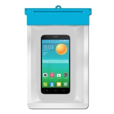 Zoe Alcatel OneTouch Flash Waterproof Bag Case - Biru