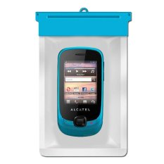 Zoe Alcatel OT-602 Waterproof Bag Case - Biru