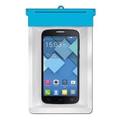 Zoe Alcatel Pop C7 Waterproof Bag - Biru