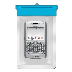Zoe Blackberry 8830 World Edition Waterproof Bag Case - Biru
