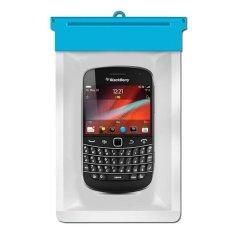 Zoe Blackberry Bold Touch 9900 Waterproof Bag Case - Biru