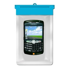 Zoe Blackberry Curve 8320 Waterproof Bag Case - Biru