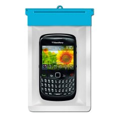 Zoe Blackberry Curve 8520 Waterproof Bag Case - Biru