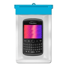 Zoe Blackberry Curve 9370 Waterproof Bag Case - Biru
