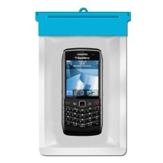 Zoe Blackberry Pearl 3G 9100 Waterproof Bag Case - Biru