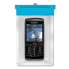 Zoe Blackberry Pearl 3G 9105 Waterproof Bag Case - Biru