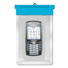 Zoe Blackberry Pearl 8100 Waterproof Bag Case - Biru