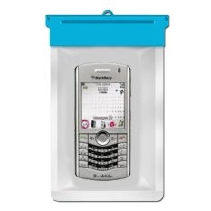 Zoe Blackberry Pearl 8110 Waterproof Bag Case - Biru