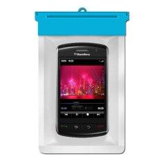 Zoe Blackberry Storm 9500 Waterproof Bag Case - Biru