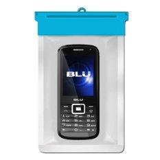 Zoe BLU Slim TV Waterproof Bag Case - Biru