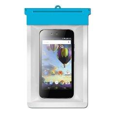 Zoe Evercoss One-X Android One Waterproof Bag Case - Biru