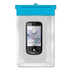 Zoe HTC Magic Waterproof Bag Case - Biru