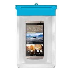 Zoe HTC One Dual Sim Waterproof Bag Case - Biru