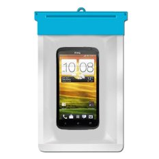 Zoe HTC One X Waterproof Bag Case - Biru