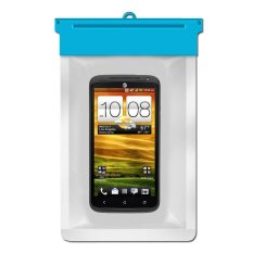 Zoe HTC One X+ Waterproof Bag Case - Biru