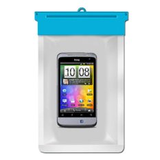 Zoe HTC Salsa Waterproof Bag Case - Biru