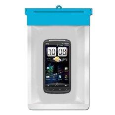 Zoe HTC Sensation Waterproof Bag Case - Biru