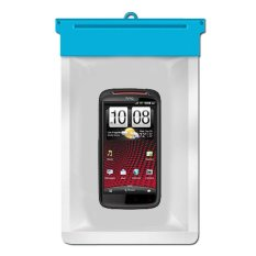 Zoe HTC Sensation XE Waterproof Bag Case - Biru