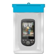 Zoe HTC Tattoo Waterproof Bag Case - Biru