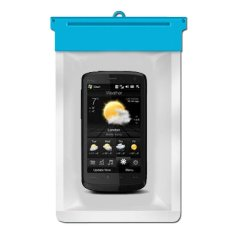 Zoe HTC Touch HD Waterproof Bag Case - Biru