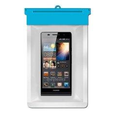 Zoe Huawei Ascend P6 Waterproof Bag Case - Biru
